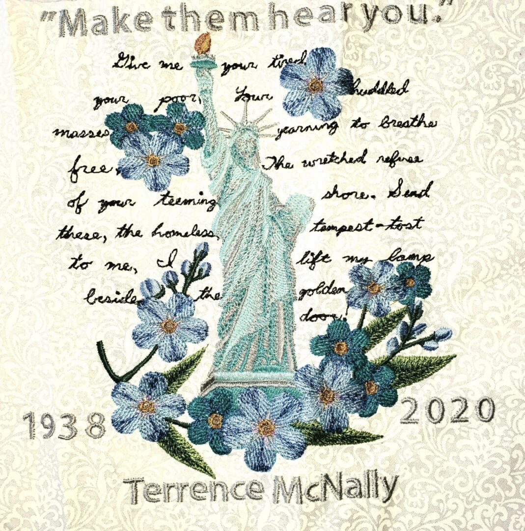 IN MEMORY OF TERRENCE MCNALLY, PLAYWRIGHT