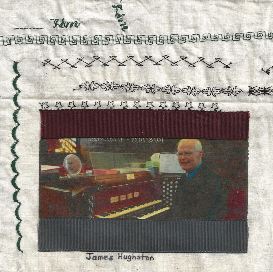 IN MEMORY OF JAMES HUGHSTON