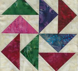 ORPHAN BLOCKS FROM THE PARADISE QUILT GUILD