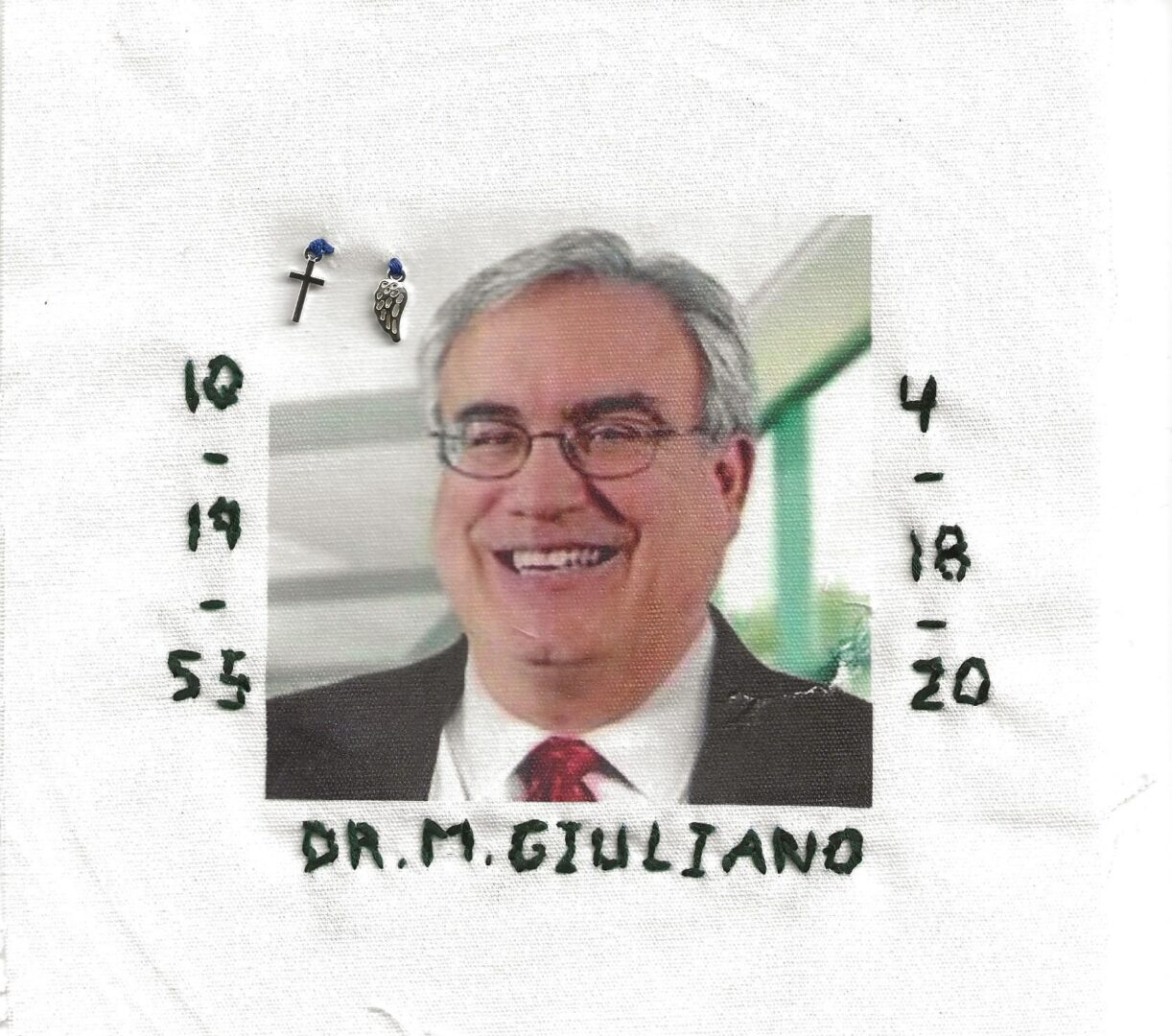 IN MEMORY OF DR. MICHAEL GIULIANO 10/19/55 - 4/18/20