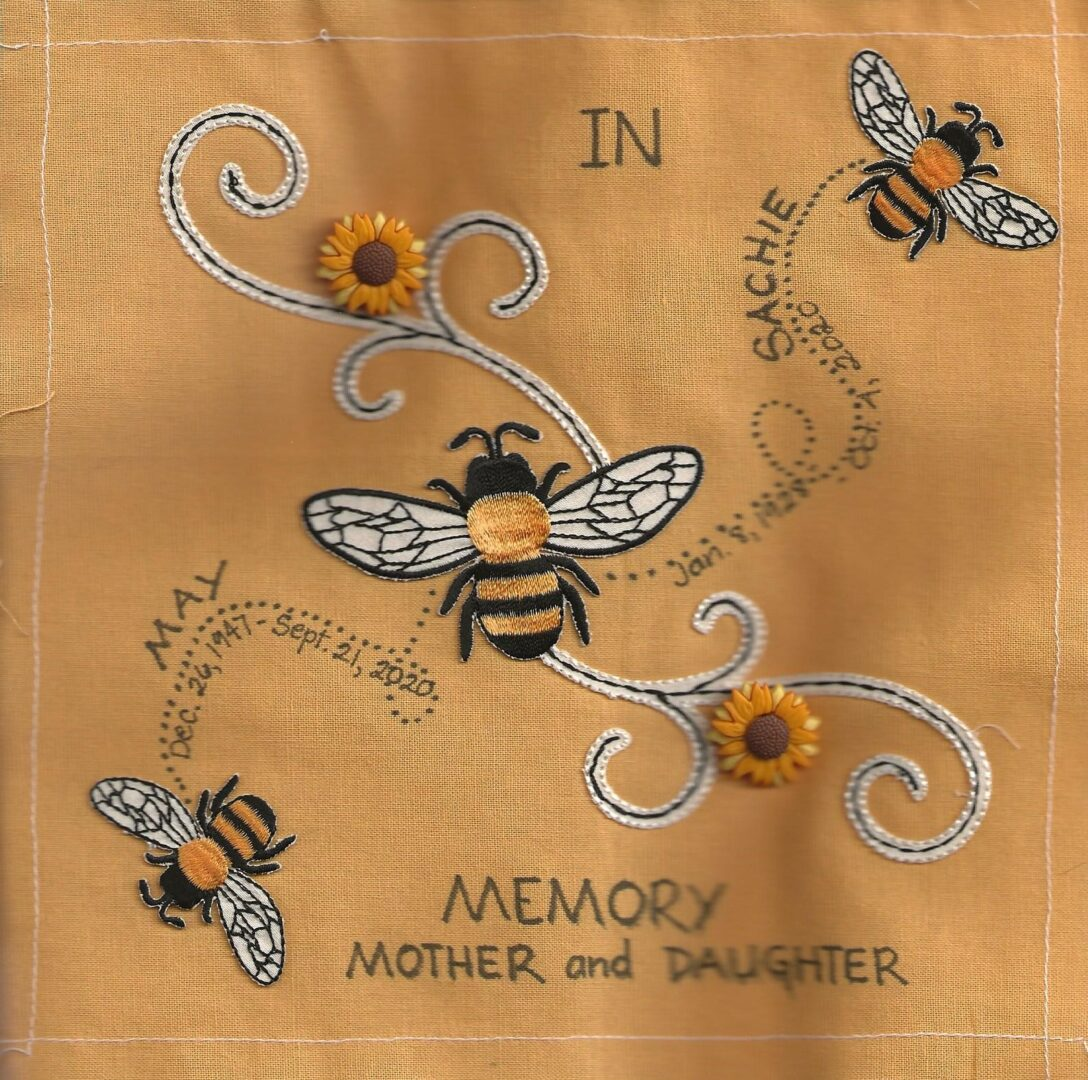 IN MEMORY OF MAY and SACHIE - MOTHER AND DAUGHTER