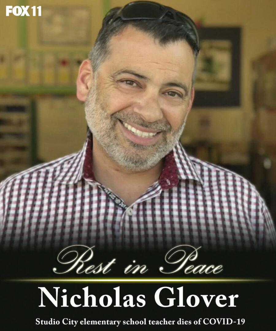 IN MEMORY OF NICHOLAS GLOVER