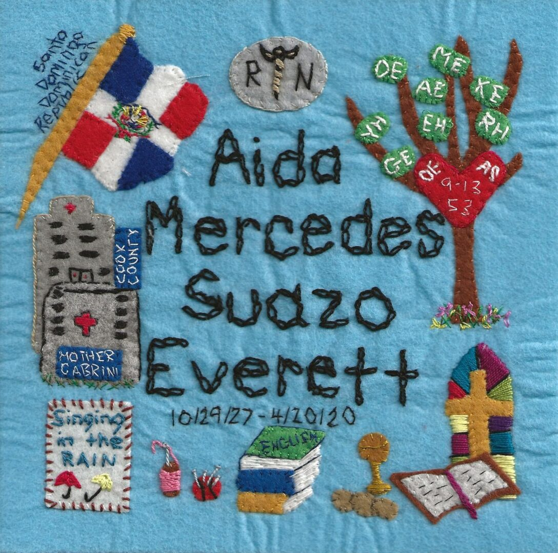 IN MEMORY OF AIDA MERCEDES SUAZO EVERETT  - 10/29/27 - 4/20/20