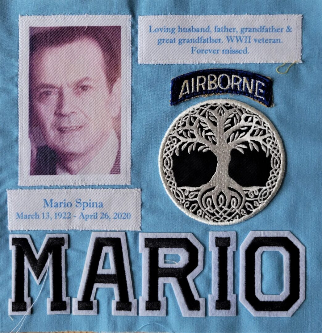 IN MEMORY OF MARIO SPINA - MARCH 13, 1922 - APRIL 26, 2020