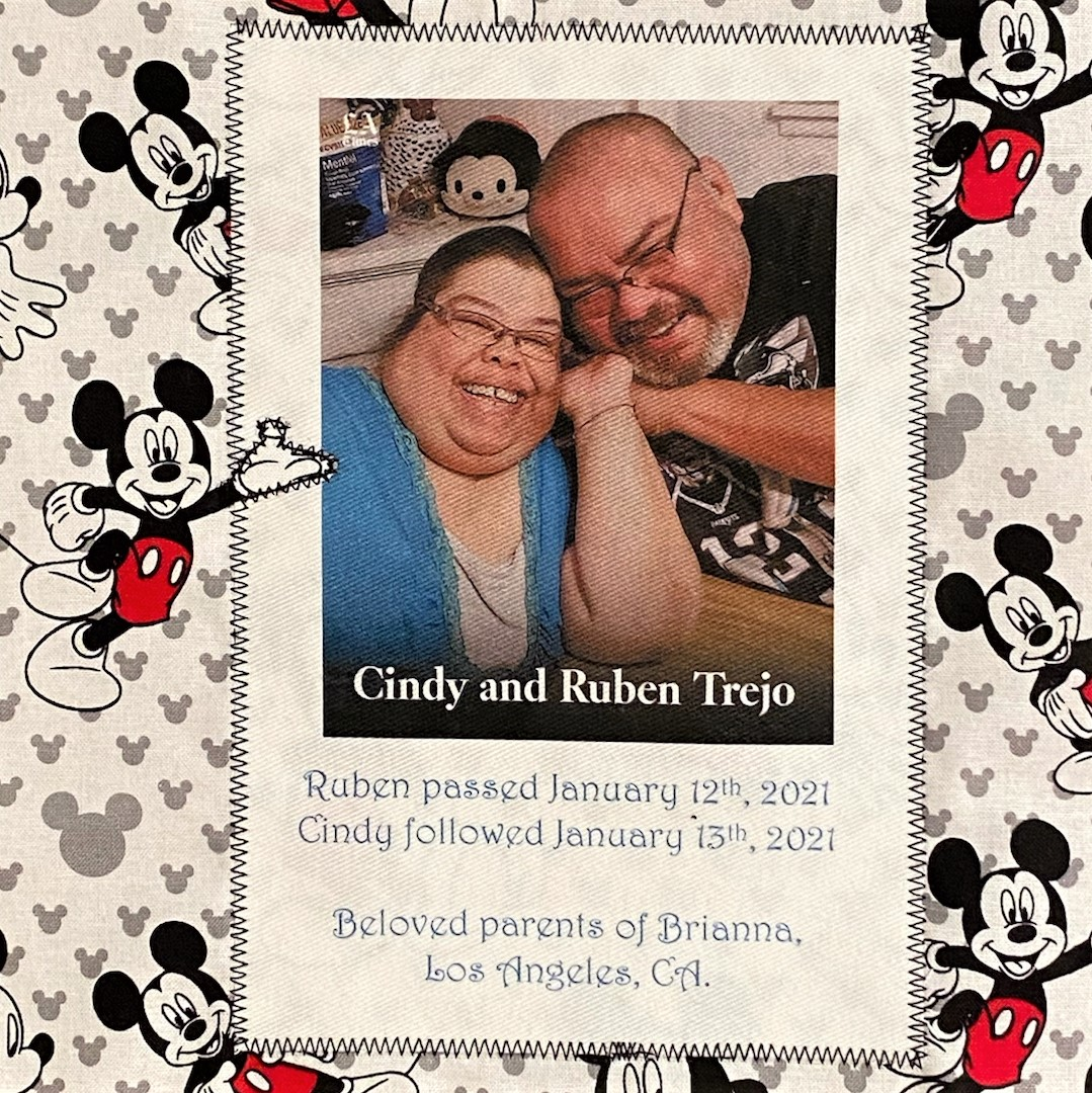 IN MEMORY OF CINDY AND RUBEN TREJO - JANUARY 12 AND JANUARY 13, 2021 - LOST A DAY APART