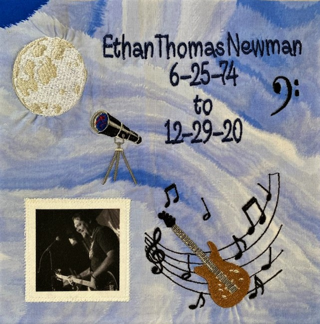 IN MEMORY OF ETHAN THOMAS NEWMAN - 6/25/74 - 12/29/20