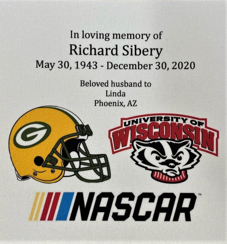 IN MEMORY OF RICK SIBERY - 5/30/1943 - 12/30/2021