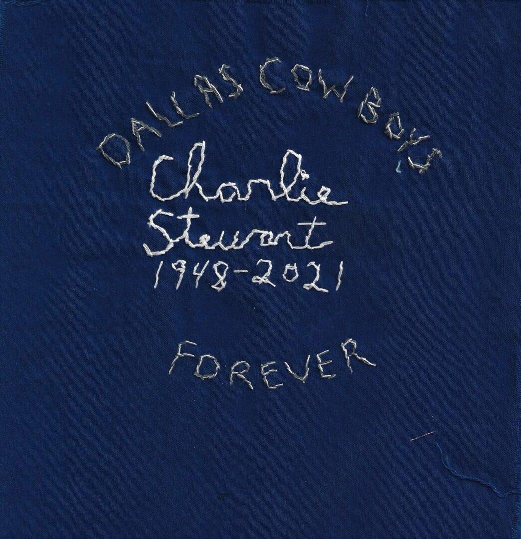 IN MEMORY OF CHARLIE STEWART - 1948 - 2021