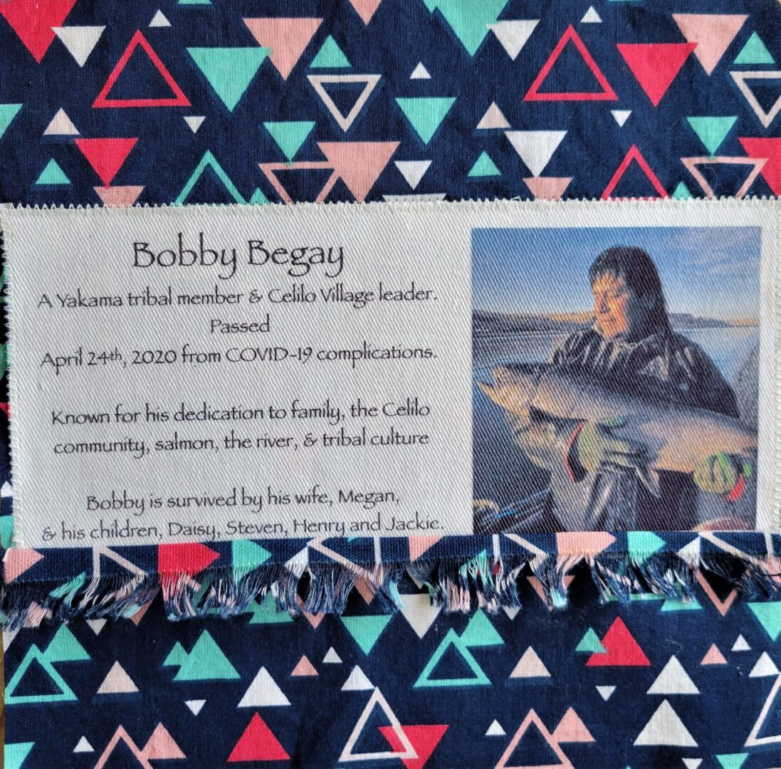IN MEMORY OF BOBBY BEGAY - APRIL 24, 2020