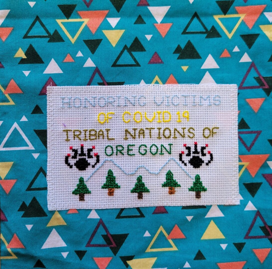 IN MEMORY OF ALL VICTIMS OF TRIBAL NATIONS IN OREGON